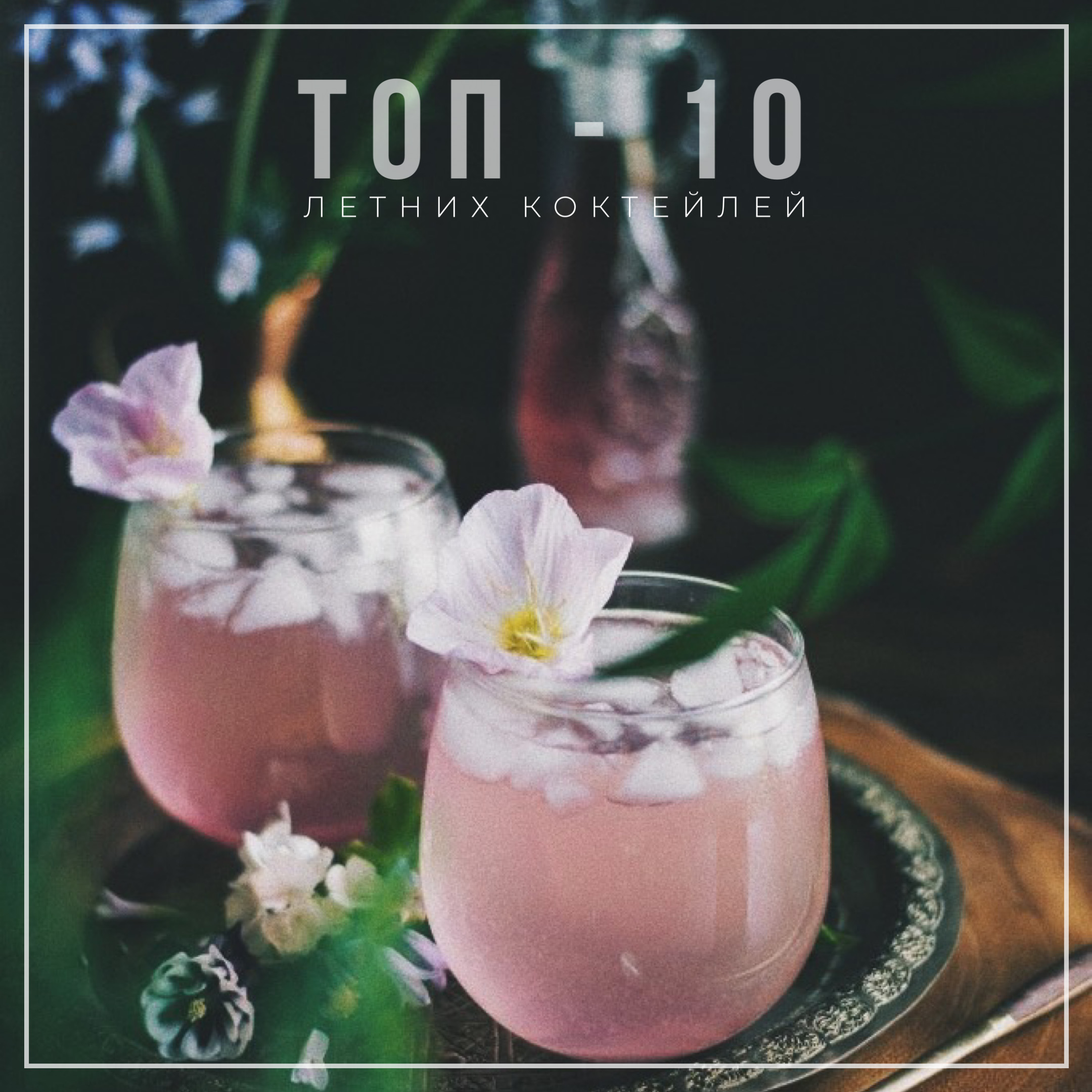 топ летних коктейлей